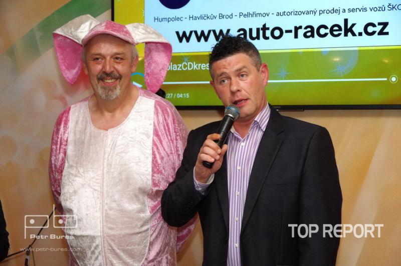 Pavel Vohnout Kyklop a Petr Martinák