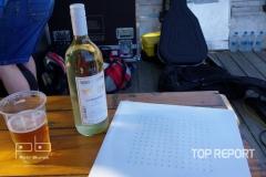 Křtěné LP a křtící víno