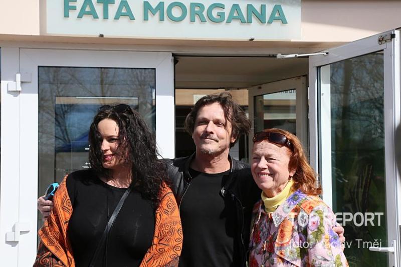 Jitka Čvančarová, Michal Malátný a Iva Janžurová