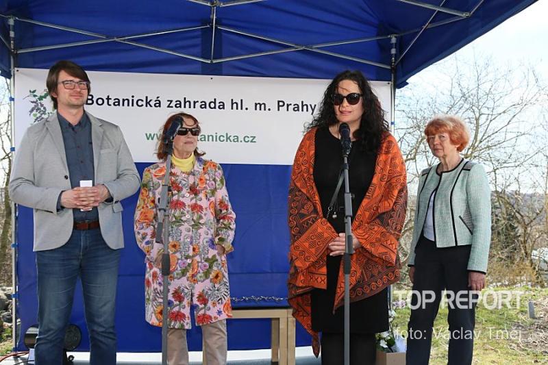 Bohumil Černý, Iva Janžurová, Jitka Čvančarová a Eva Smržová