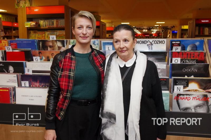 Anna Polívková a Evelyna Steimarová