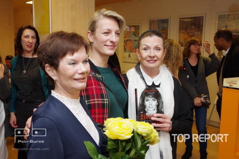 Julie Juhanová, Anna Polívková a Evelyna Steimarová