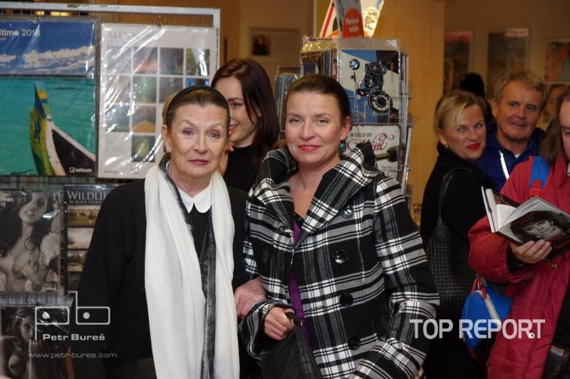 Evelyna Steimarová a Vendula Burger