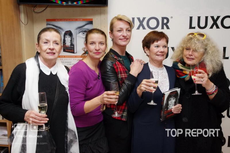 Evelyna Steimarová, Vendula Burger, Anna Polívková, Julie Juhanová a Soňa Štroblová
