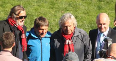 Josef Váňa a Václav Chaloupka ve Velké Chuchli