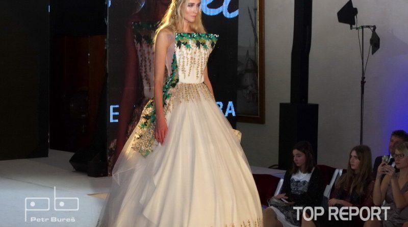 Model návrhářky Jitky Klett