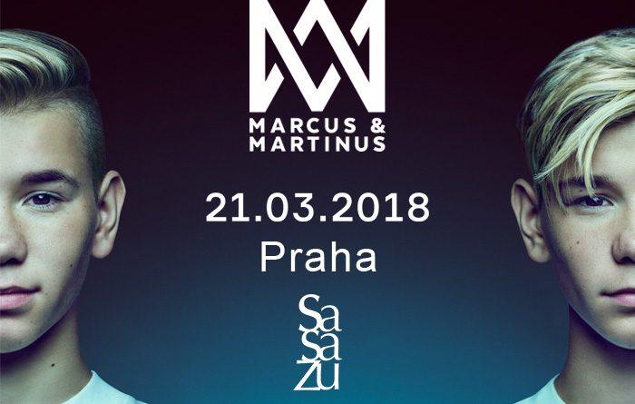 Marcus & Martinus SE POPRVÉ PŘEDSTAVÍ V ČESKÉ REPUBLICE