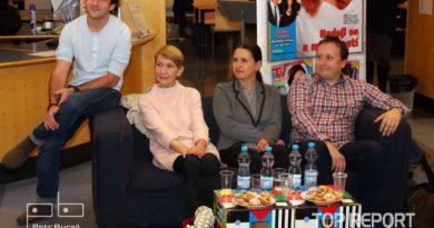 Matouš Ruml, Daniela Kolářová, Dana Černá a Aleš Vrzák