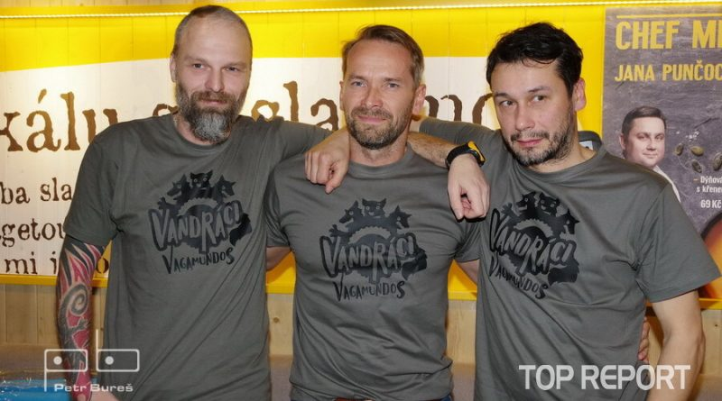 Vandráci - Hynek Bernard, Jan Révai a Pavel Liška