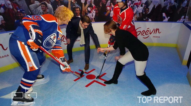 Bully s Waynem Gretzkym a Jaromírem Jágrem