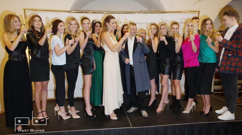 Slavnostní zahájení České Miss 2018 - přípitek