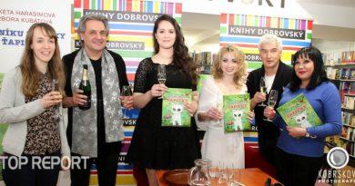 Viktorie Šmajstrlová, Slávek Boura, Barbora Kubátová, Markéta Harasimová, Michal Nesvadba a Dagmar Patrasová