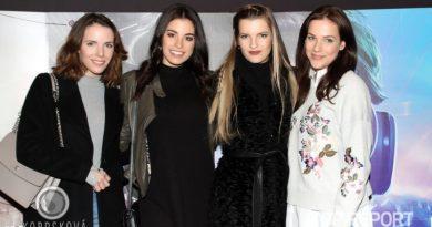 Andrea Kabická, Tereza Budková, Veronika Chmelířová a Radka Rosická