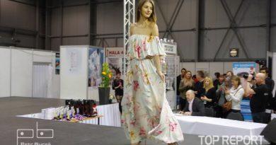 Veronika Volkeová v šatech Miss Paradise 2018