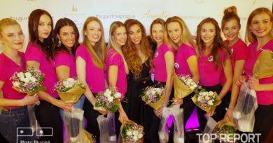 Michaela Habáňová a finalistky České Miss 2018
