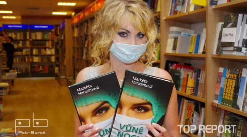 Spisovatelka Markéta Harasimová s románem Vůně noci